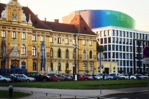 Zagreb Driving and Walking Tour