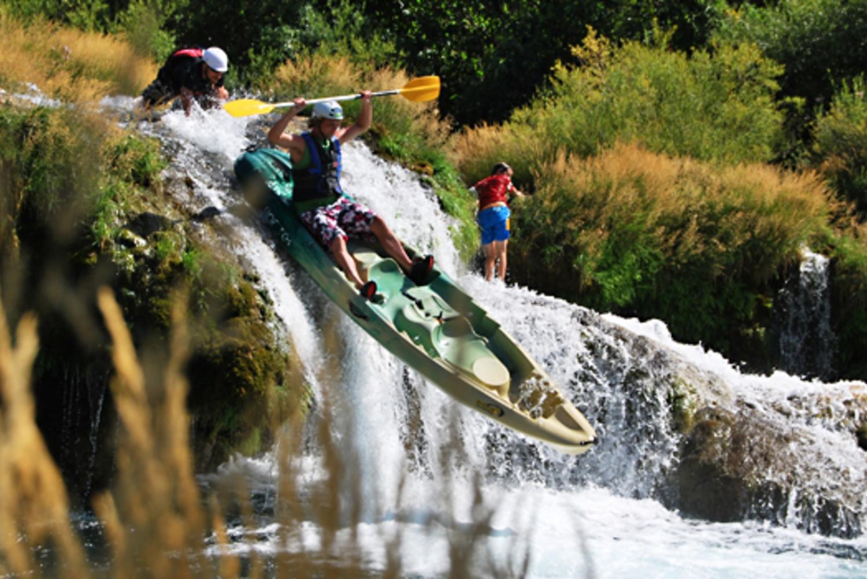 Zrmanja Full-Day Canoe or Kayak Trip in Kaštel Žegarski