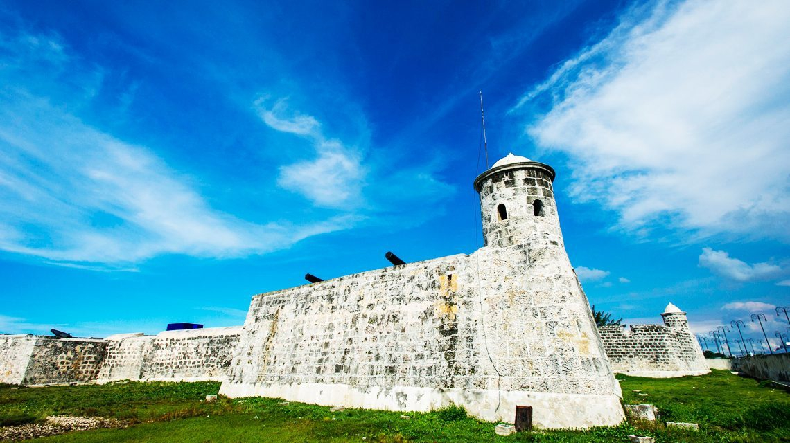 Beautiful Castles in Cuba