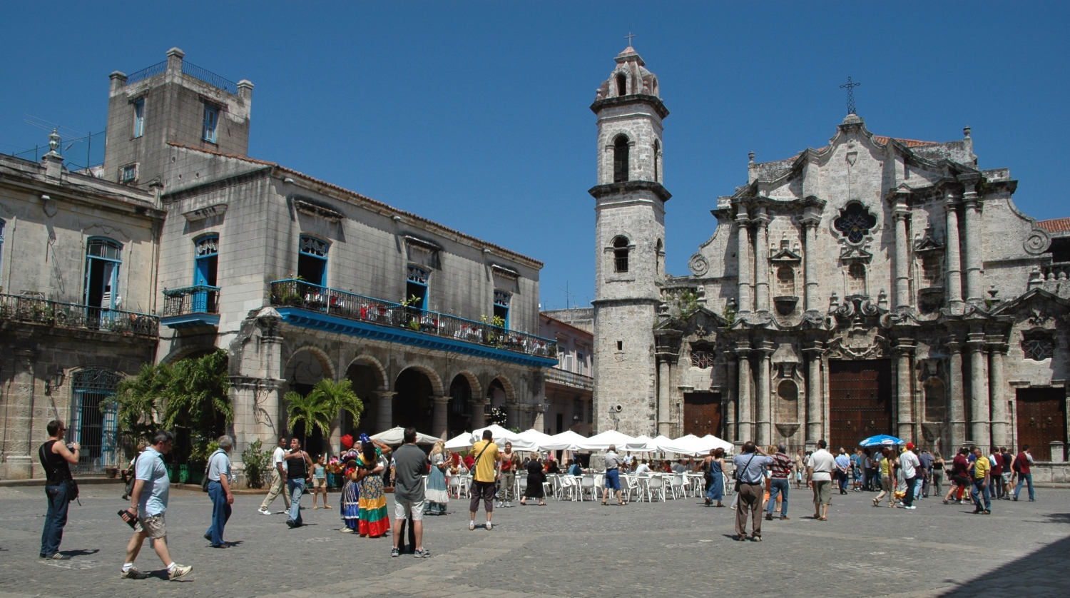 Cathedral Square in Old Havana