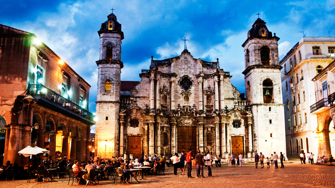 The Cathedral of San Cristobal de La Habana