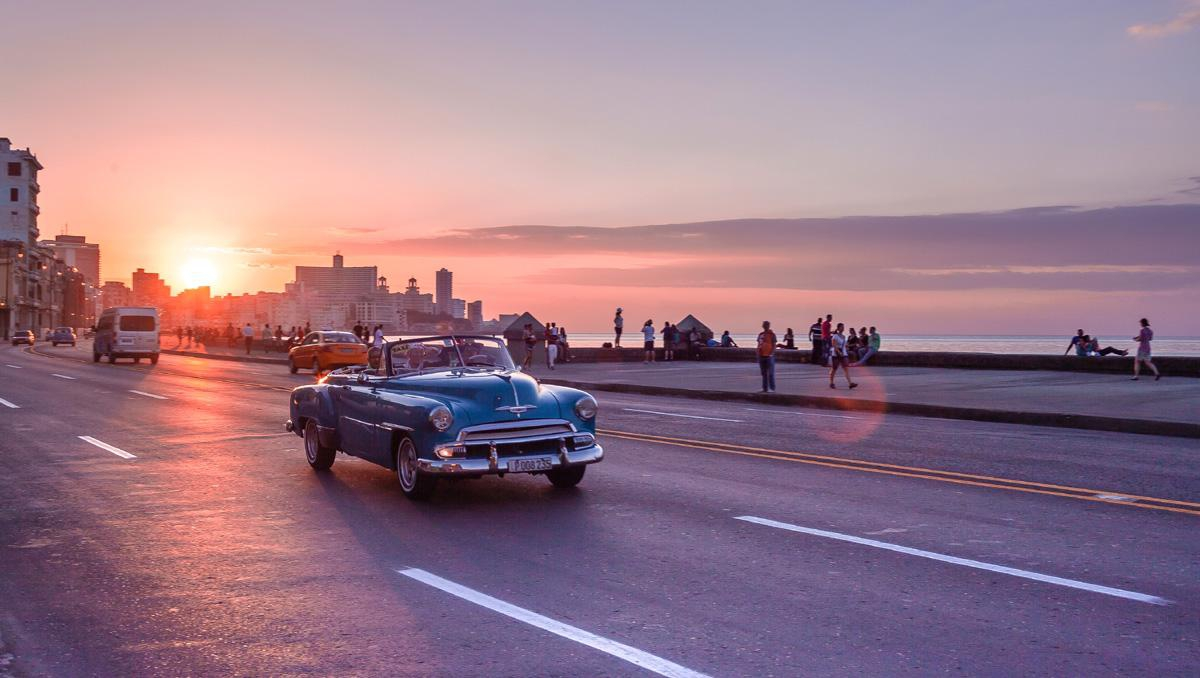 The Malecon of Havana