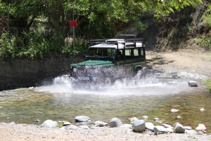 From Ayia Napa: Troodos Classic Jeep Safari