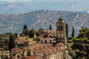 From Protaras: Full-Day Jeep Safari to Troodos with Lunch