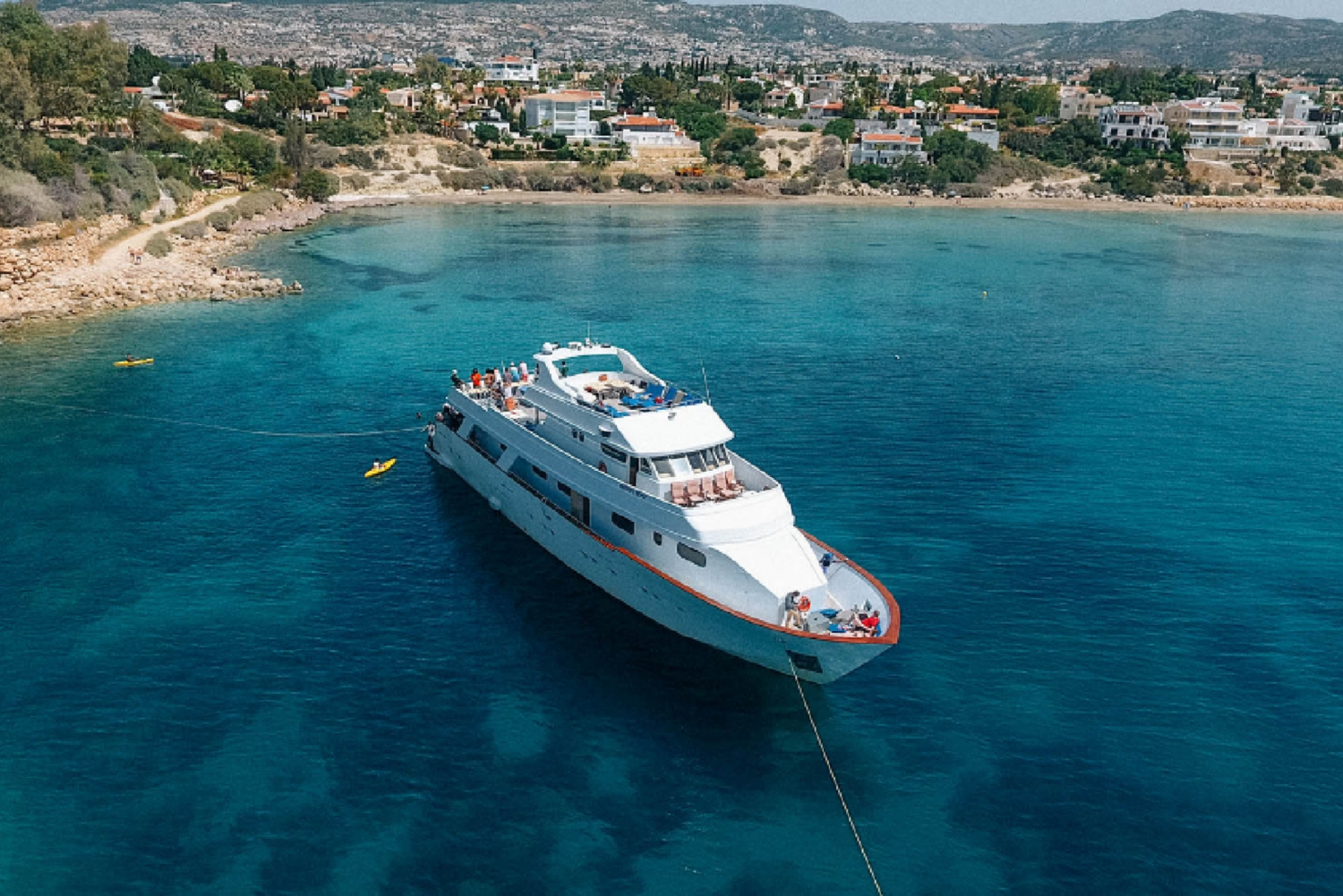 Paphos: Adults-Only Ocean Flyer Cruise