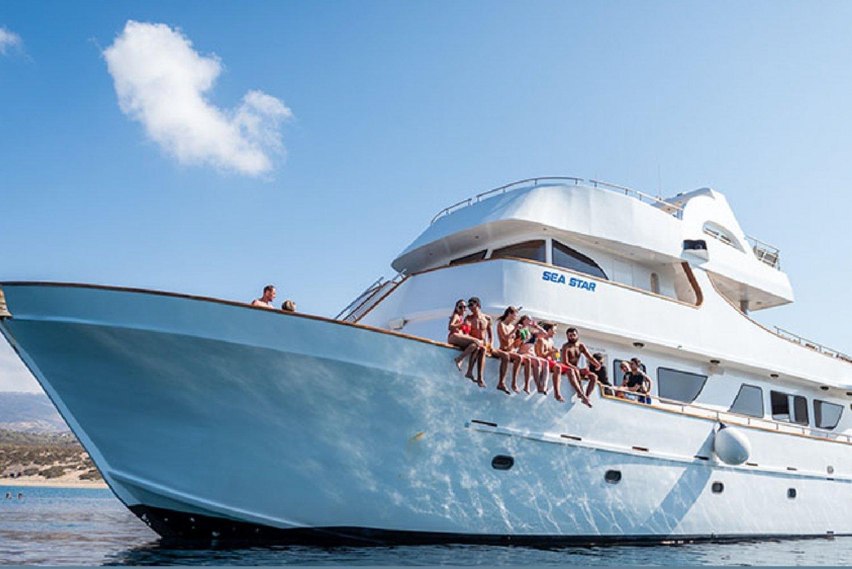 Paphos: Half-Day Sea Star Cruise