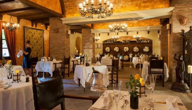 Ristorante Bacco at the Elysium Hotel