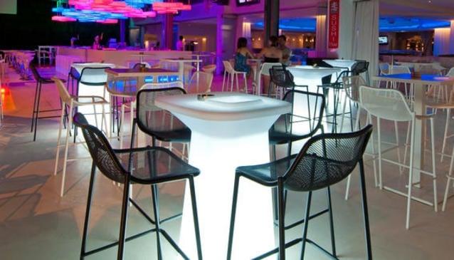 Wasabi Sushi Bar at the Napa Plaza Hotel