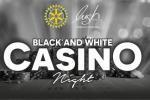 Black and White charity casino night