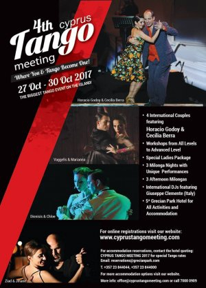 4th Cyprus Tango Meeting