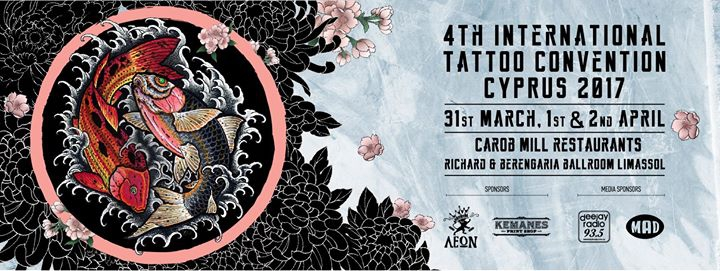 4th International Tattoo Convention 2017 My Guide Cyprus
