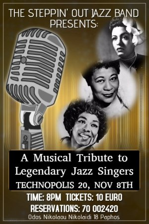 A Musical Tribute to the Legendary Jazz Singers
