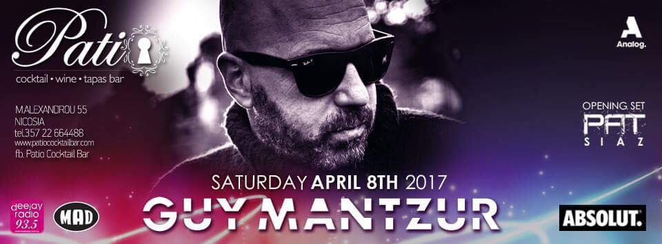 A night with GUY MANTZUR