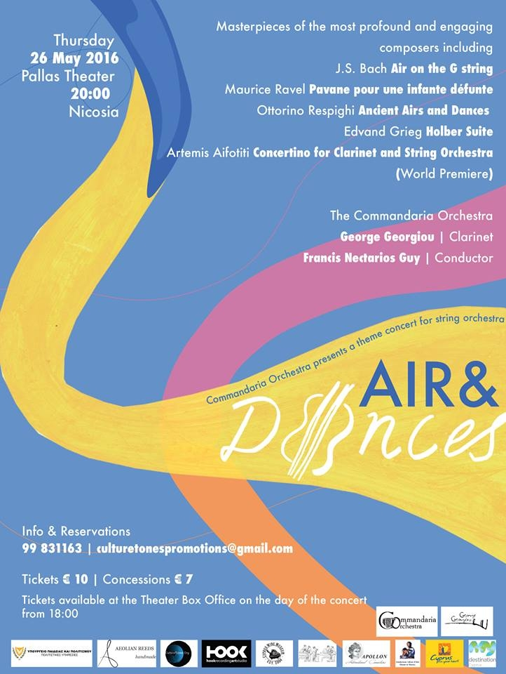 Air & Dances - a theme concert for string orchestra