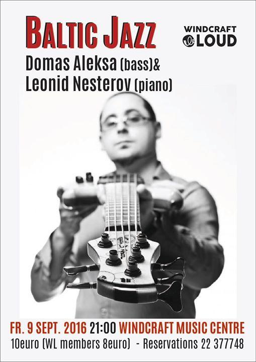 Baltic JAZZ Domas Aleksa&Leonid Nesterov