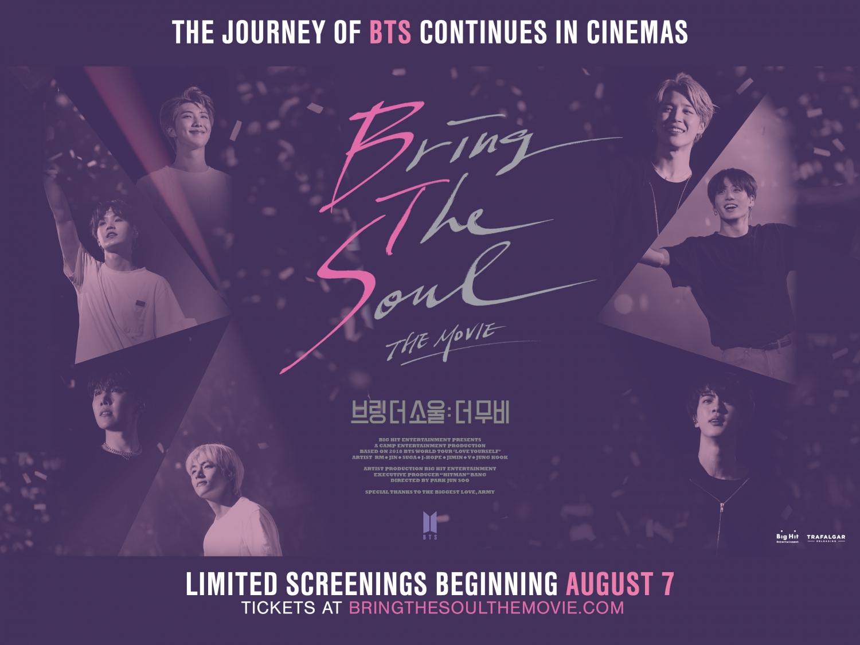K Cineplex Cinemas Will Proudly Presents Bts Bring The Soul