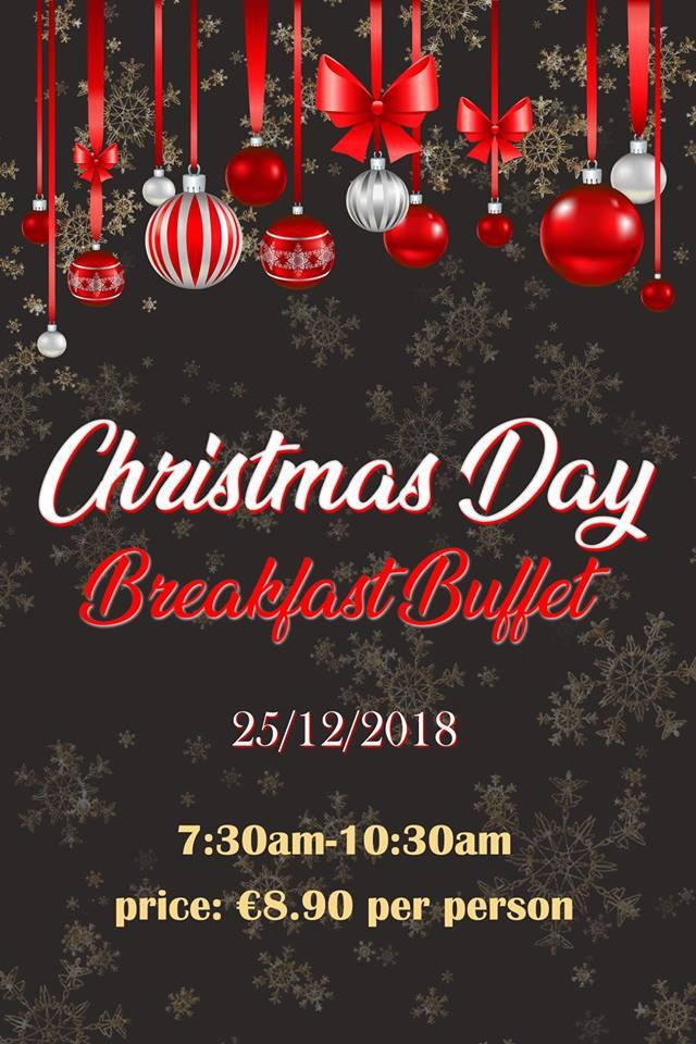 Christmas Day Breakfast Buffet