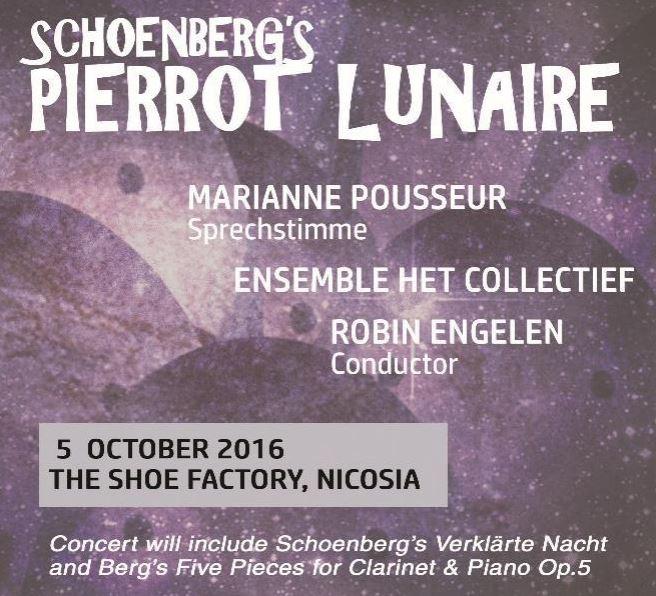 CONCERT Schoenberg's Pierrot Lunaire