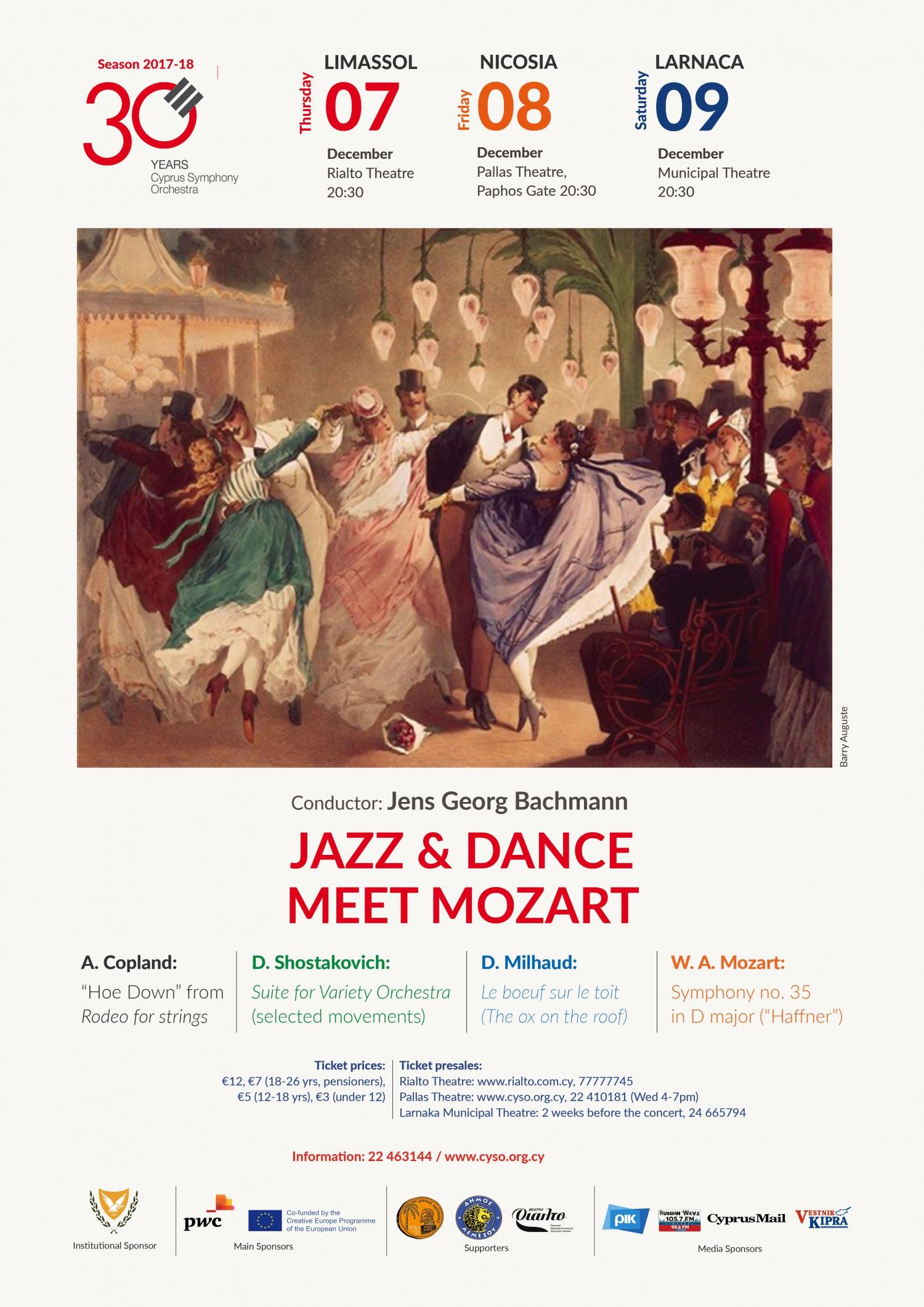 Dance and Jazz Meet Mozart