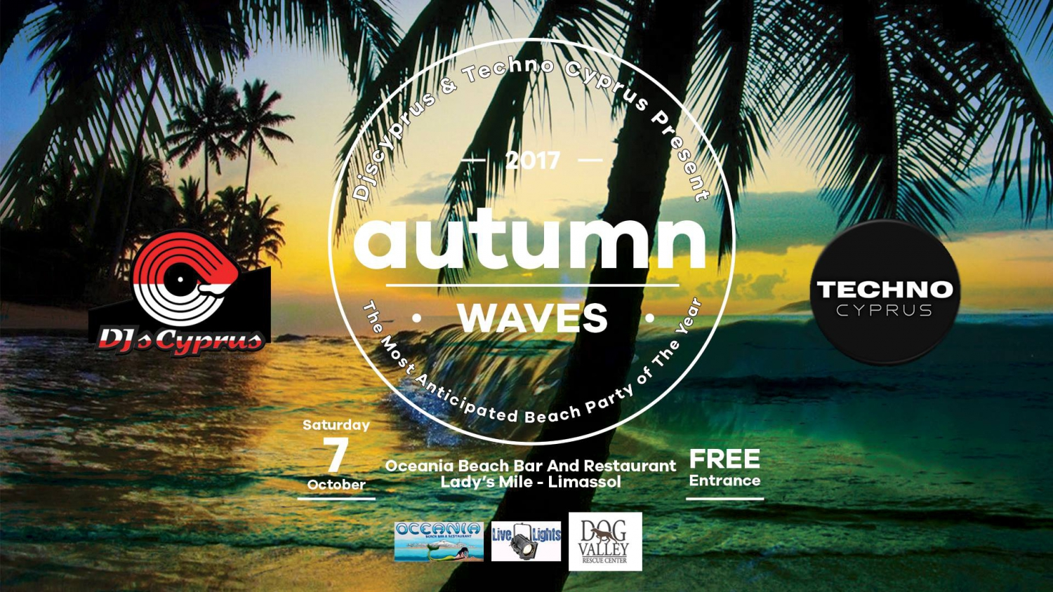 Djscyprus & Techno Cyprus Present 'Autumn Waves' Beach Party