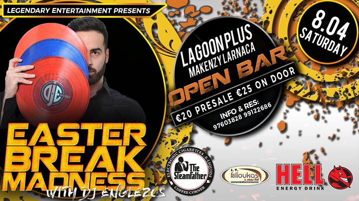Easter Break Madness | OPEN BAR