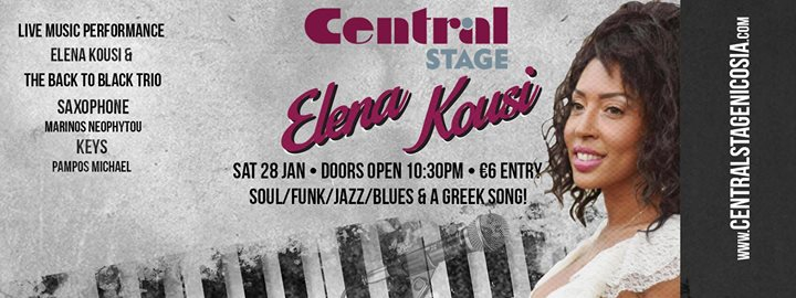 Elena Kousi LIVE at Central Stage