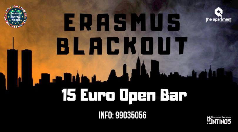 Erasmus Blackout Open Bar