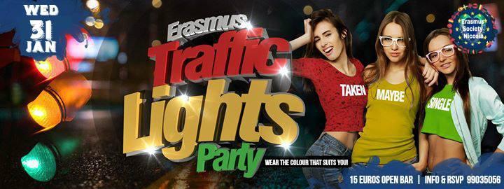 ✪ Erasmus Traffic Lights Party ✪ Open Bar ✪