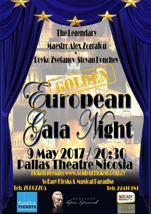 European Gala Night - Golden
