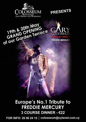 Europe's Number One Tribute to Freddie Mercury