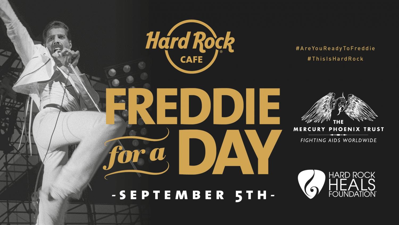 'Freddie for a Day' at Hard Rock Ayia Napa