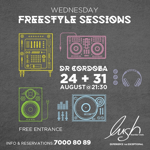 Freestyle sessions with Dr Cordoba.