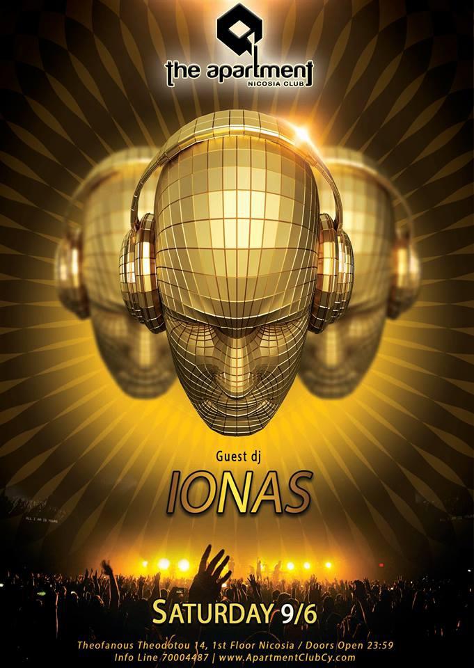 Guest dj Ionas at the Apartment Nicosia club
