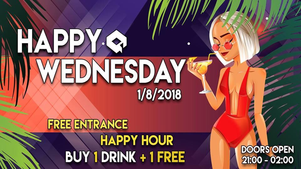 Happy Wednesdays - Happy Hour