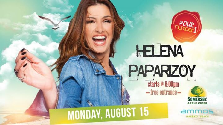 Helena Paparizou Live | Monday 15 August