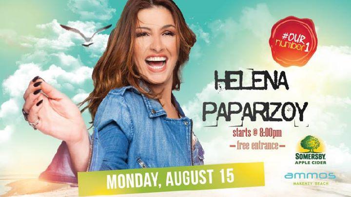 Helena Paparizou Live | Monday 15 August