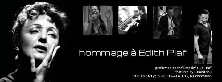 Hommage à Edith Piaf - (Steppin' Out Trio)