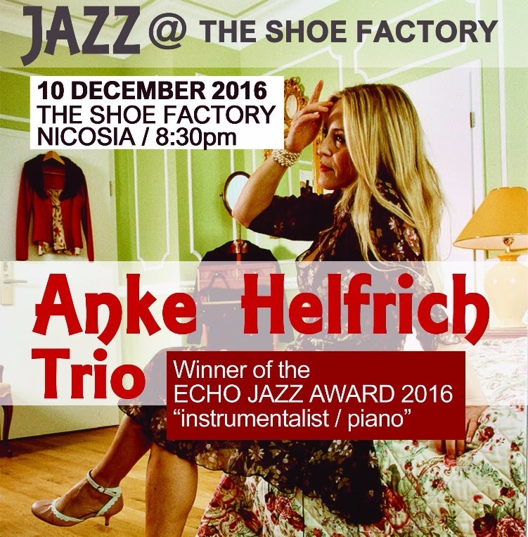 Jazz at The Shoe Factory: Anke Helfrich Trio