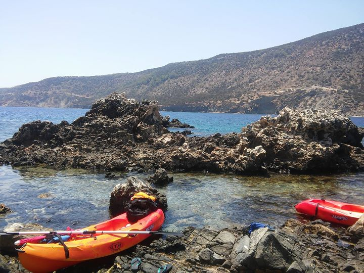 Kayaking in Akamas