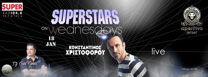 Konstantinos Christoforou Live 18.01.17 only at aperitivo jetset