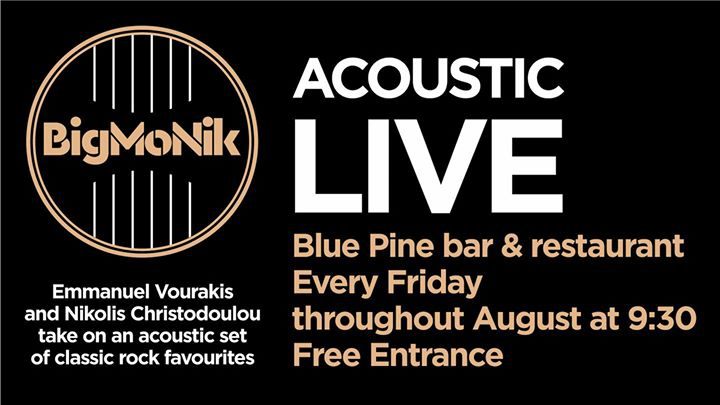 Live Acoustic: The BigMoNik