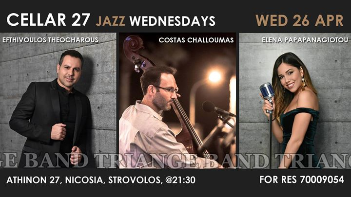 Live Jazz with Triangle Band at Cellar 27