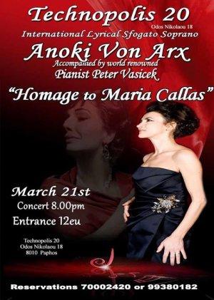 Maria Callas Homage Concert