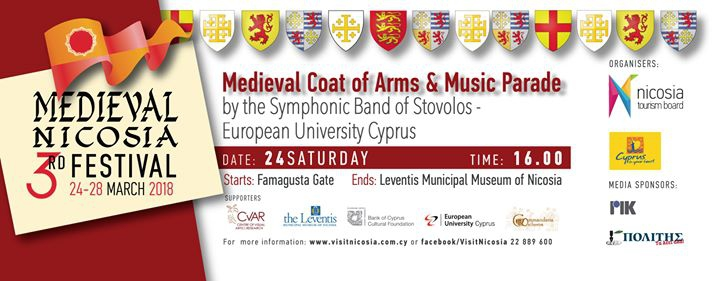 Medieval Coat of Arms and Music Parade