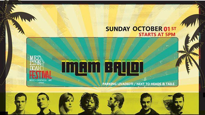 Mes Stin Poli Festival presents Imam Baildi _01 Oct|Sun