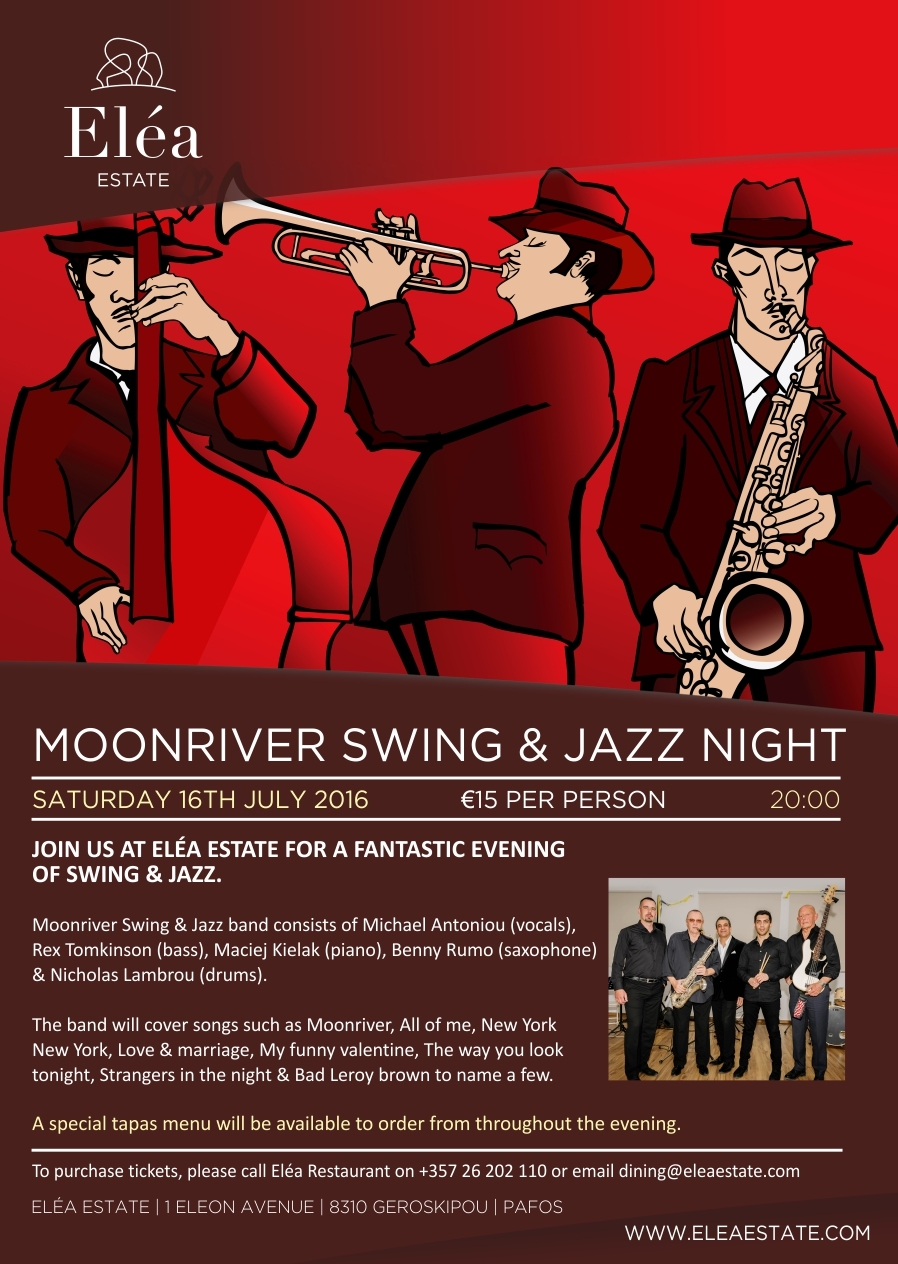 Moonriver Swing & Jass Night
