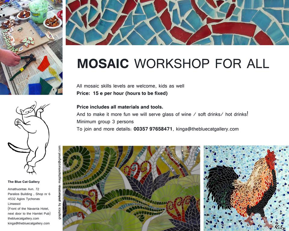 Mosaic workshop for all