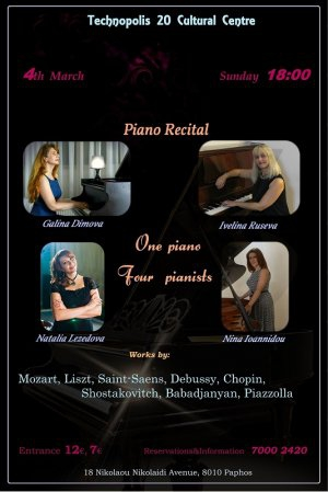 One piano - four pianists