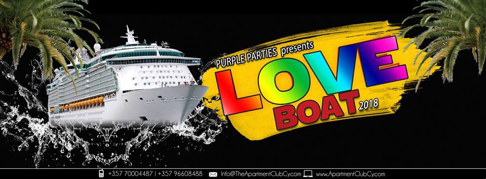 Purple Parties presents the Love Boat party 2018