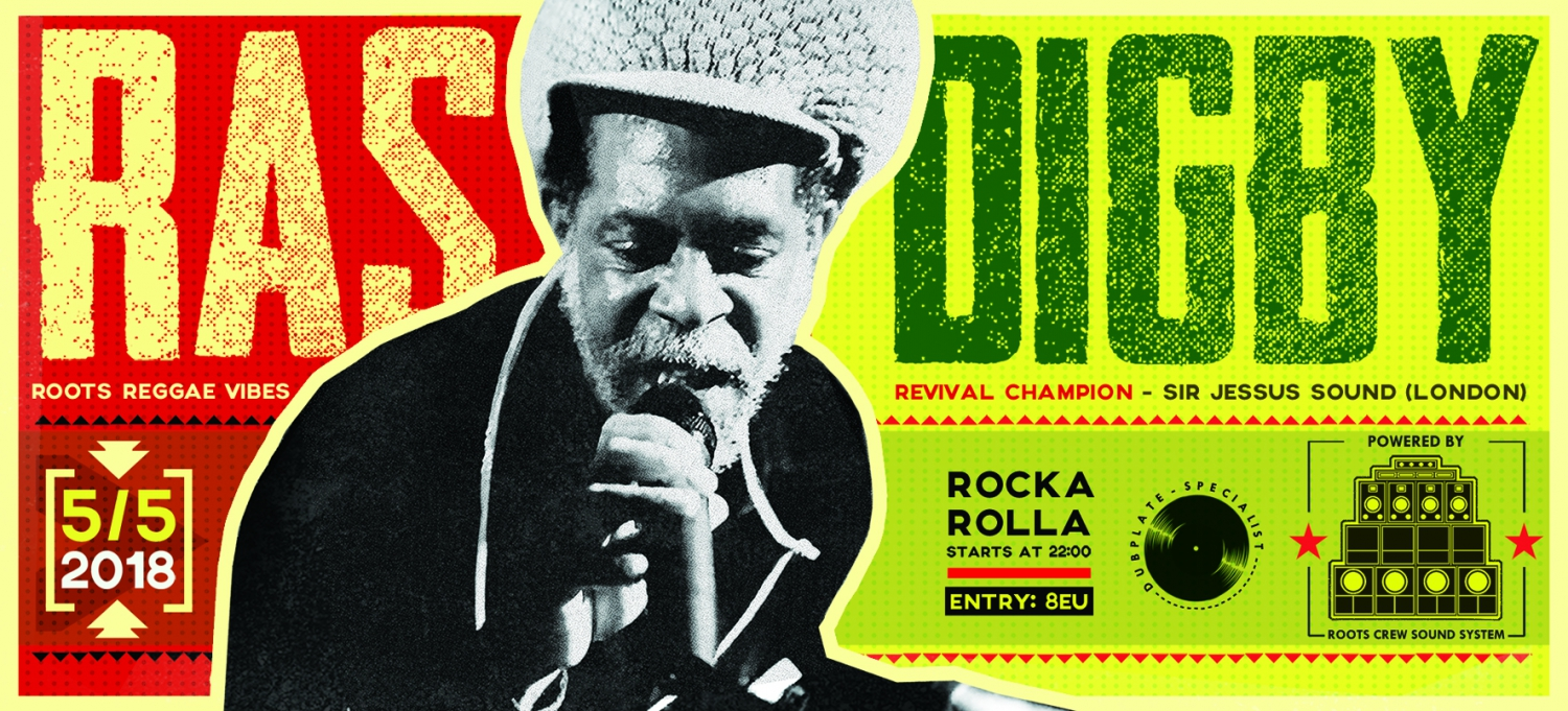 Ras Digby(UK) on Roots Crew Sound in Nicosia